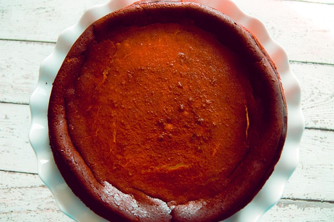 Burnt Basque Cheesecake Recipe from Chocolates and Chai
