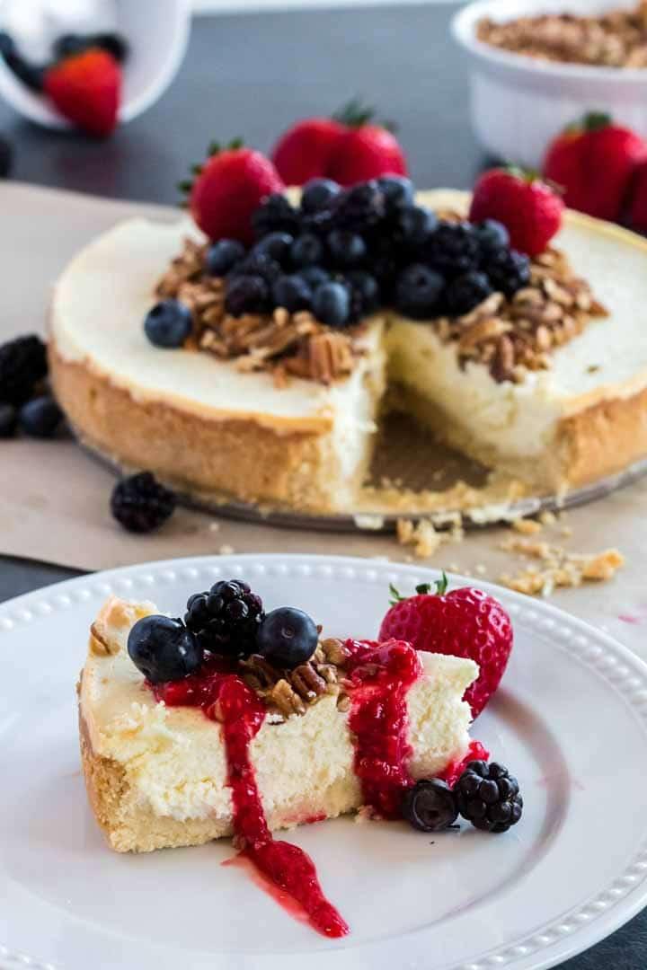 Keto Cheesecake Recipe from Platter Talk
