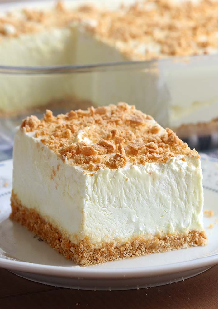 No Bake Classic Woolworth Cheesecake from Sugar Apron
