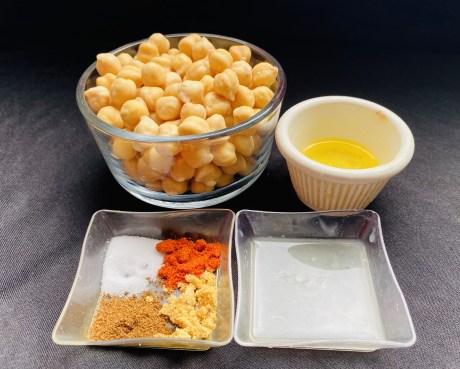Air-fried Crispy Chickpeas