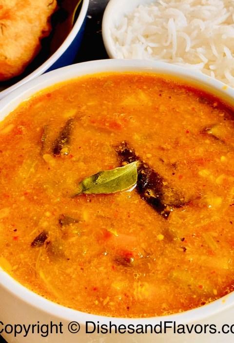Restaurant Style Sambar