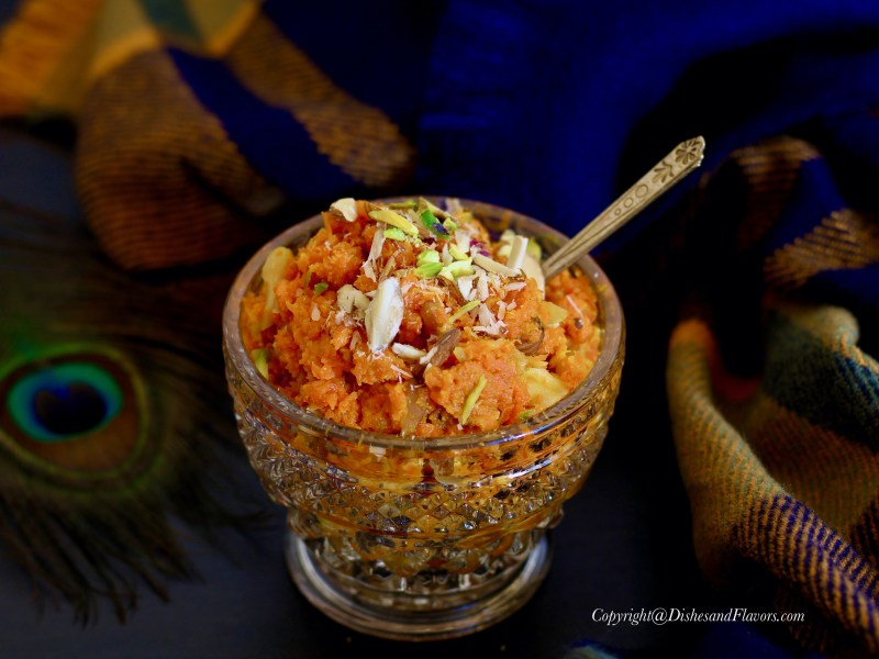 Gajar Halwa (Carrot Halwa)