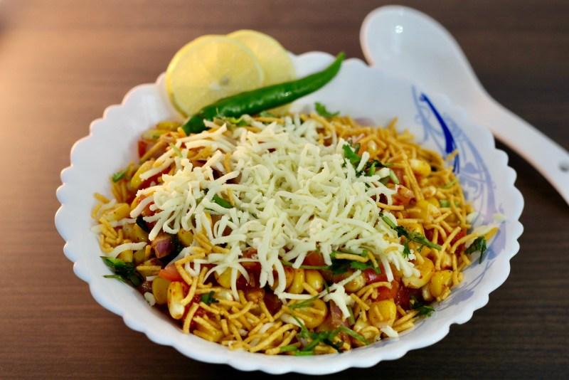 Masala Corn Chaat