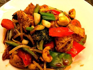 From the Far East, Stir Fry Chicken