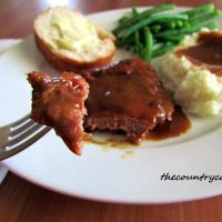 Slow-Cooker Cube Steak with Gravy from The Country Cook