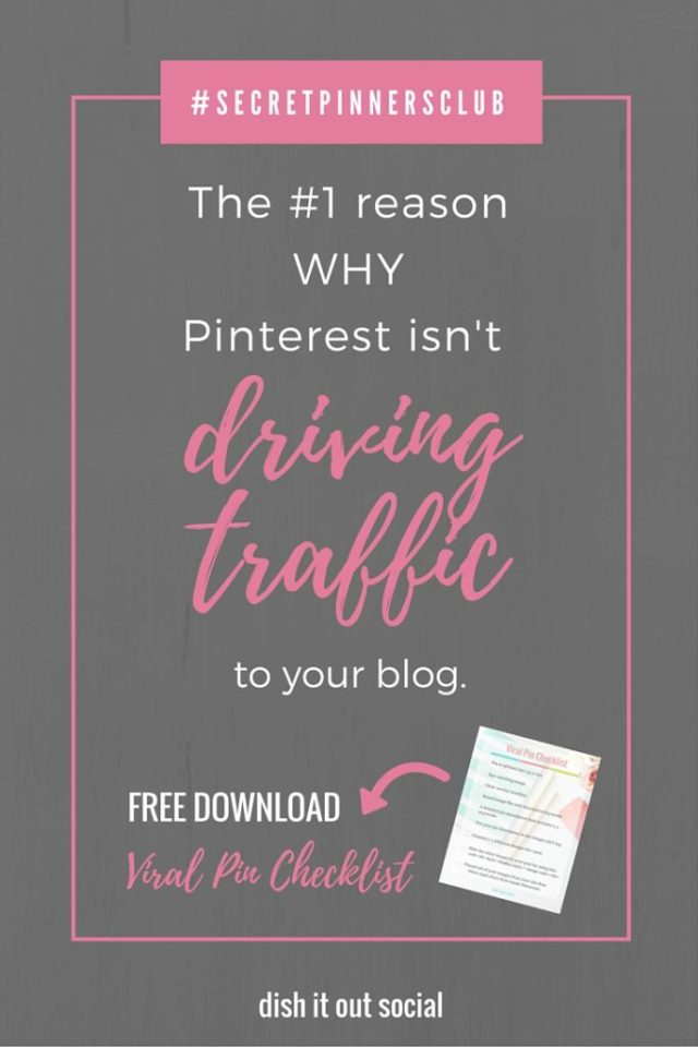Do you wonder why your not seeing the results you want from Pinterest? Do you know how to use pinterest to drive traffic to you site? If your not seeing results this is probably why.