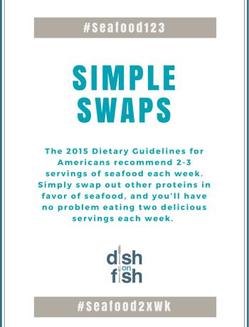#Seafood123 - Simple Swaps
