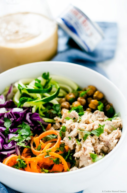 Thai Tuna Power Bowl