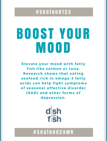 #Seafood123 - Boost Your Mood