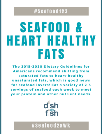 #Seafood123: Seafood and Heart Healthy Fats