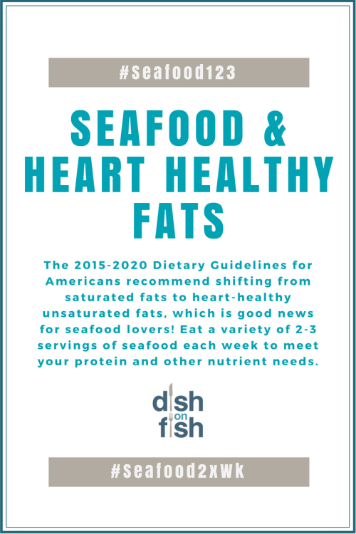 Seafood and Heart-Healthy Fats