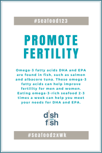 #Seafood123 Promote Fertility