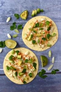 Crab Avocado Tacos