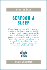 #Seafood123 Seafood & Sleep