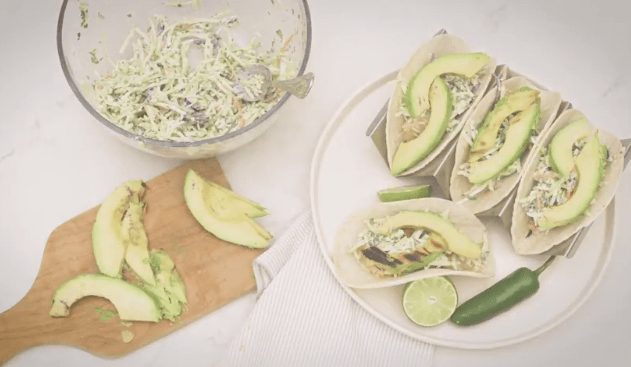 Grilled Cod Tacos