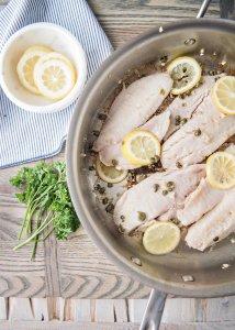 #SeafoodSupperClub: Lemon Tilapia Piccata