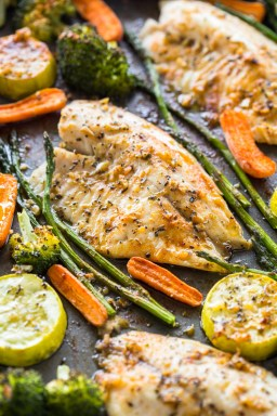 Sheet Pan Tilapia