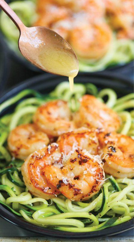 Shrimp Zucchini Noodles Meal Plan