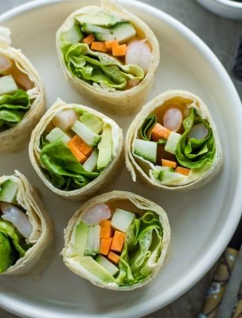 Tortilla Sushi Rolls