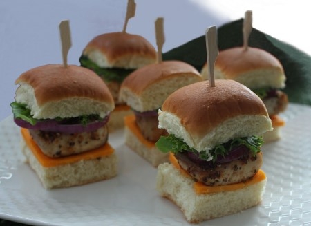 grilled seafood recipes- Cobia Seafood Sliders Recipe