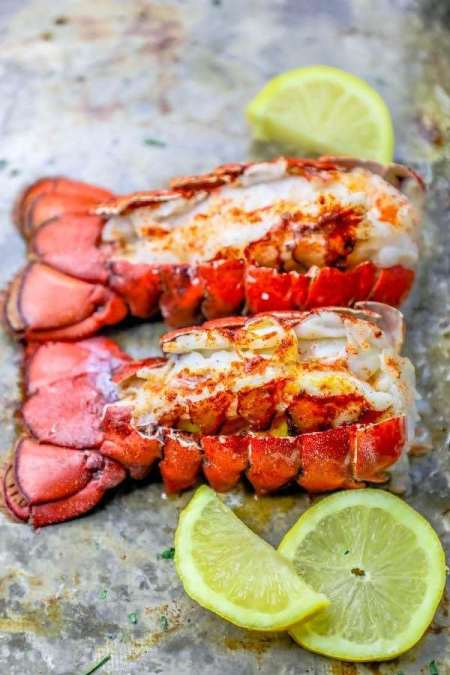 Seafood Restaurant Dishes - Lobster tail