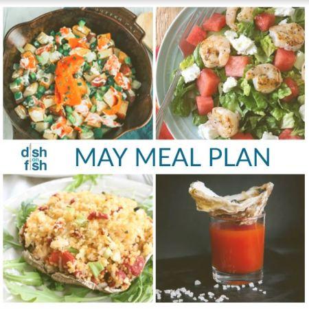 Mediterranean Diet  - May's monthly meal plan