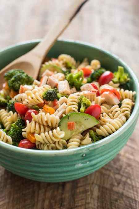 Mother's Day - Crab pasta salad