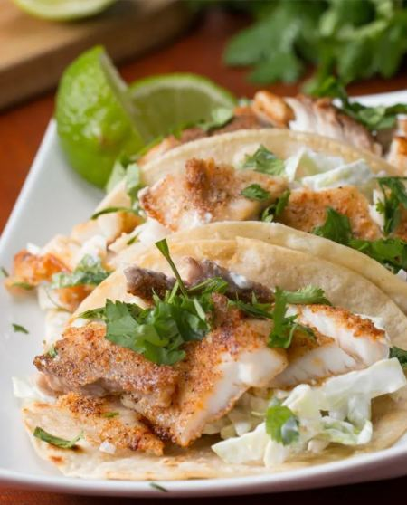 Mexican seafood  - Fish tacos