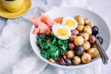 scrumptious seafood- Smoked salmon breakfast bowl