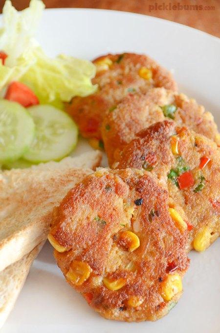 summer seafood- Tuna patties