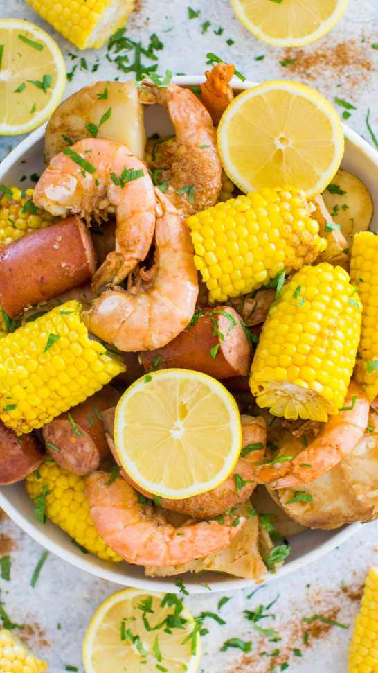 Slow cooker seafood
