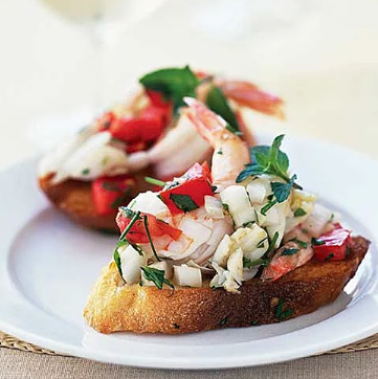 holiday seafood appetizers