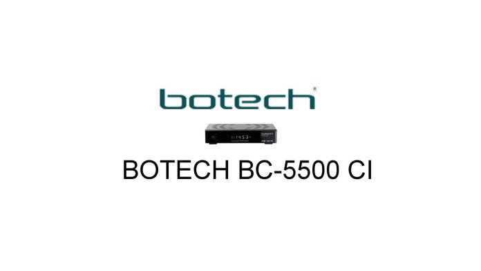 BOTECH BC-5500 CI