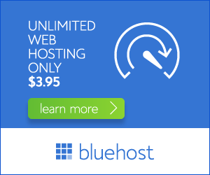 blue host ad