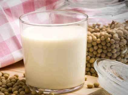 Пост и соевое молоко