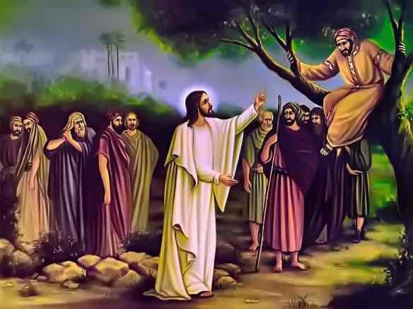 С чего начинается обращение ко Христу.Заповедь для Закхея