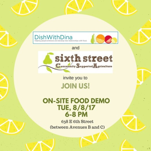 SSCC CSA DWD Food Demo IMAGE_Aug 8