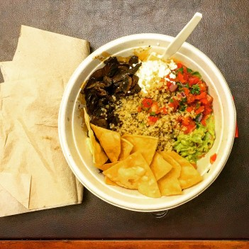 Burrito Bowl open