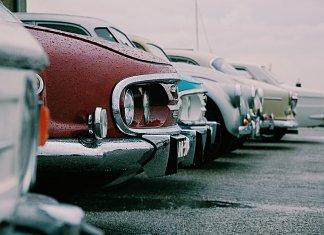 Pegatinas y automóviles