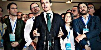 Pablo Casado: recambios, cambio, y transición