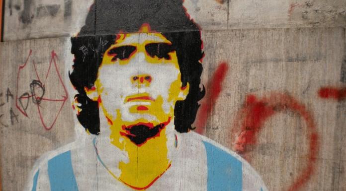 Santa Maradona y el infierno