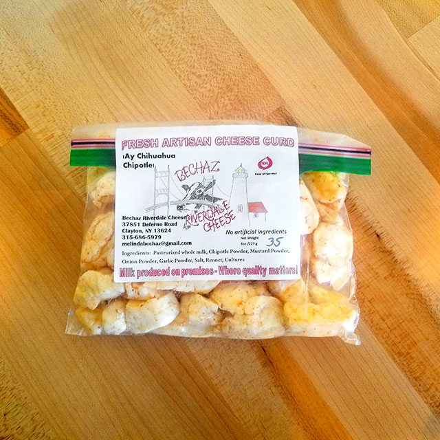 ¡Ay Chihuahua Chiptole! Cheese Curd (0.5 lb.) – Bechaz Riverdale Cheese