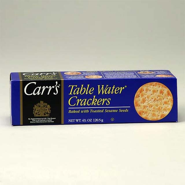 Carr's Table Water Crackers with Toasted Sesame Seeds