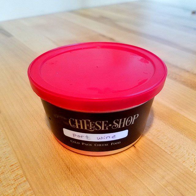 Port Wine Cheese Spread – Di Silvestro & Sons