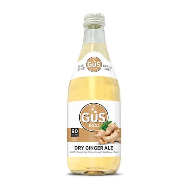 GuS Dry Ginger Ale soda bottle