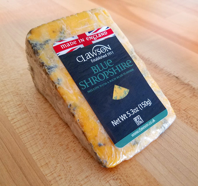 Blue Shropshire – Long Clawson Dairy