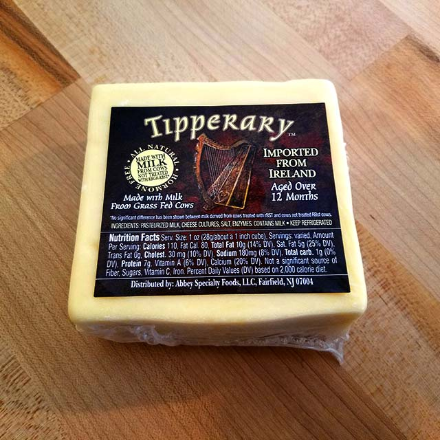 Tipperary Irish Cheddar