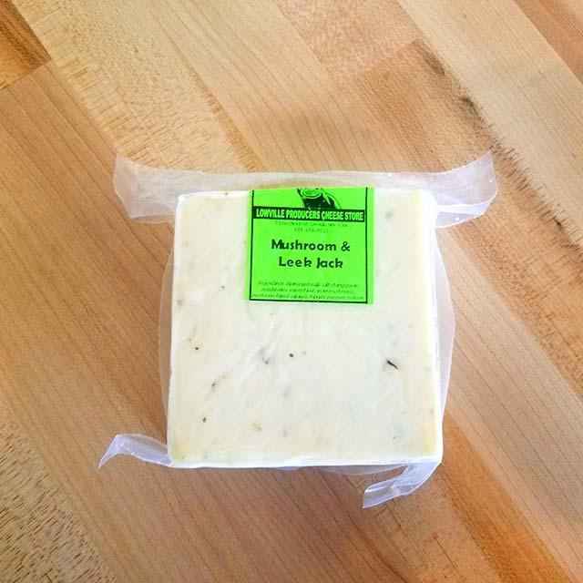 Mushroom & Leek Jack – Lowville Producers Dairy