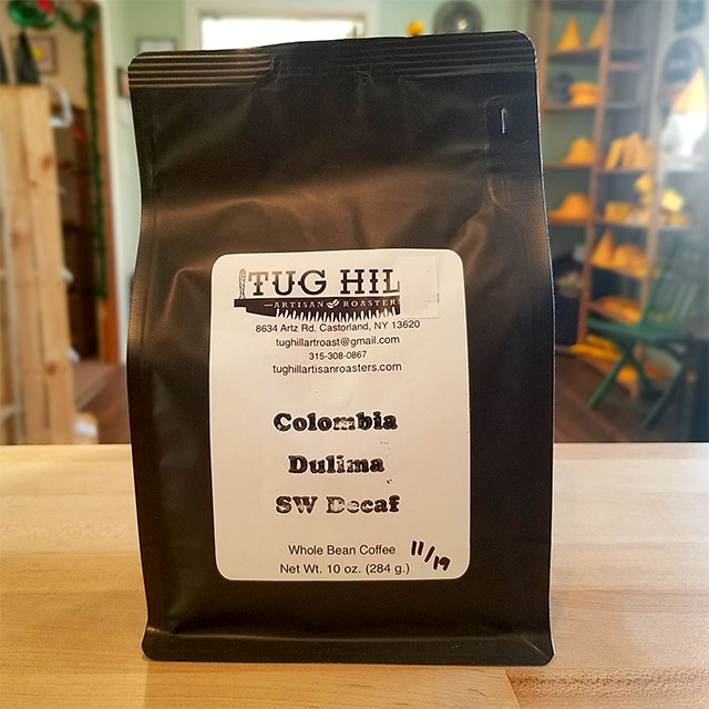 Coffee (Colombia Dulima SW Decaf) – Tug Hill Artisan Roasters