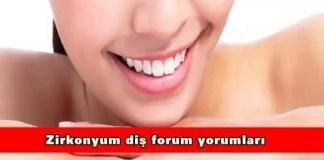 Zirkonyum diş forum